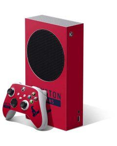 Houston Texans Red Performance Series Xbox Series S Bundle Skin