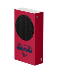 Houston Texans Red Performance Series Xbox Series S Console Skin
