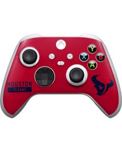 Houston Texans Red Performance Series Xbox Series S Controller Skin