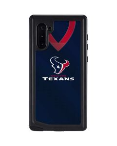 Houston Texans Team Jersey Galaxy Note 10 Waterproof Case