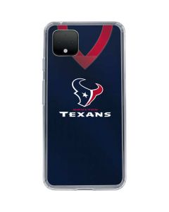 Houston Texans Team Jersey Google Pixel 4 Clear Case