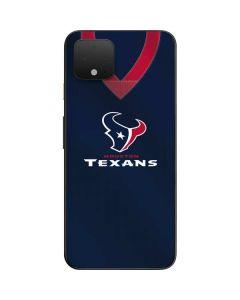 Houston Texans Team Jersey Google Pixel 4 Skin
