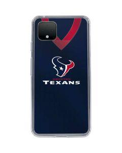 Houston Texans Team Jersey Google Pixel 4 XL Clear Case