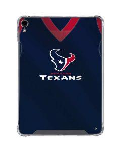 Houston Texans Team Jersey iPad Pro 11in (2018-19) Clear Case