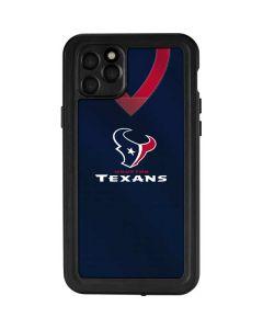 Houston Texans Team Jersey iPhone 11 Pro Max Waterproof Case