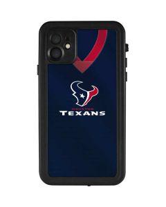 Houston Texans Team Jersey iPhone 11 Waterproof Case