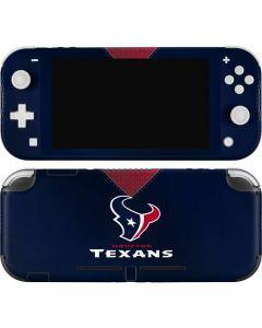 Houston Texans Team Jersey Nintendo Switch Lite Skin