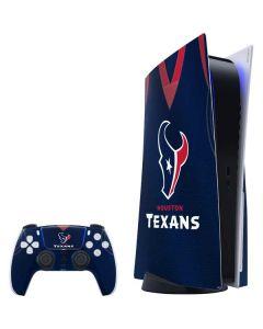 Houston Texans Team Jersey PS5 Bundle Skin