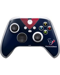 Houston Texans Team Jersey Xbox Series S Controller Skin