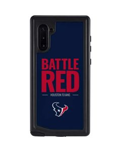 Houston Texans Team Motto Galaxy Note 10 Waterproof Case