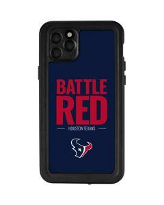 Houston Texans Team Motto iPhone 11 Pro Max Waterproof Case