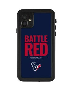 Houston Texans Team Motto iPhone 11 Waterproof Case