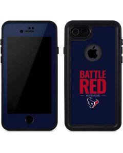 Houston Texans Team Motto iPhone SE Waterproof Case
