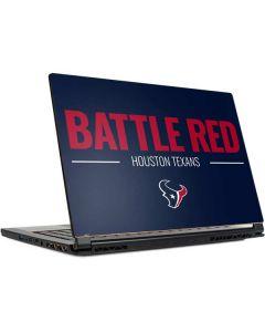 Houston Texans Team Motto MSI GS65 Stealth Laptop Skin