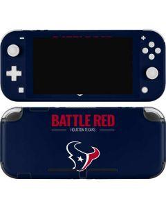 Houston Texans Team Motto Nintendo Switch Lite Skin