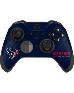 Houston Texans Team Motto Xbox Elite Wireless Controller Series 2 Skin