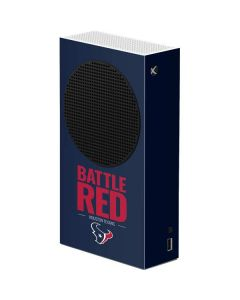 Houston Texans Team Motto Xbox Series S Console Skin