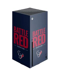 Houston Texans Team Motto Xbox Series X Console Skin