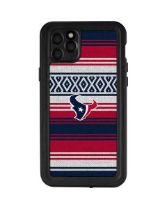 Houston Texans Trailblazer iPhone 11 Pro Max Waterproof Case