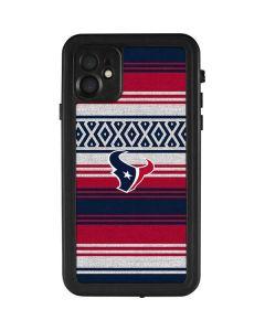 Houston Texans Trailblazer iPhone 11 Waterproof Case