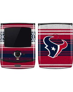 Houston Texans Trailblazer Motorola RAZR Skin