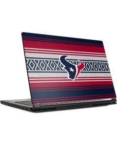 Houston Texans Trailblazer MSI GS65 Stealth Laptop Skin