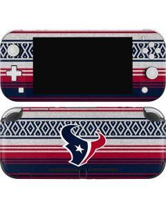 Houston Texans Trailblazer Nintendo Switch Lite Skin