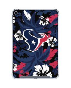 Houston Texans Tropical Print iPad Mini 5 (2019) Clear Case