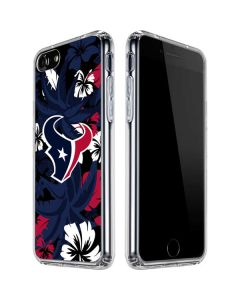 Houston Texans Tropical Print iPhone SE Clear Case