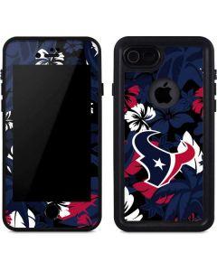 Houston Texans Tropical Print iPhone SE Waterproof Case