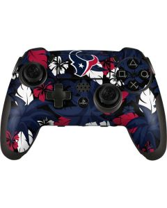 Houston Texans Tropical Print PlayStation Scuf Vantage 2 Controller Skin