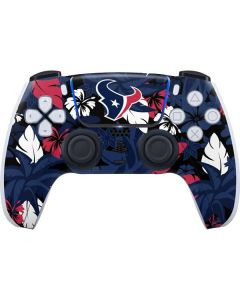 Houston Texans Tropical Print PS5 Controller Skin
