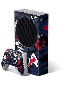 Houston Texans Tropical Print Xbox Series S Bundle Skin