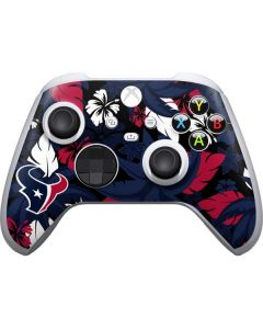 Houston Texans Tropical Print Xbox Series S Controller Skin
