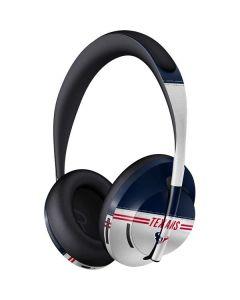Houston Texans White Striped Bose Noise Cancelling Headphones 700 Skin