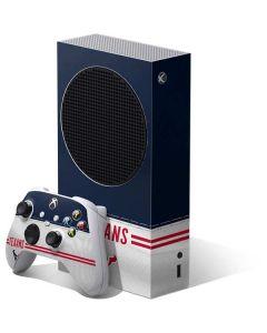 Houston Texans White Striped Xbox Series S Bundle Skin