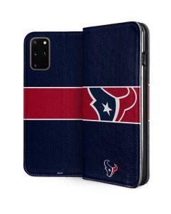 Houston Texans Zone Block Galaxy S20 Plus Folio Case