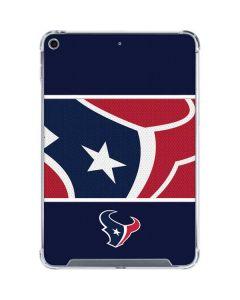 Houston Texans Zone Block iPad Mini 5 (2019) Clear Case