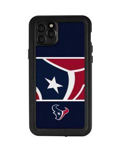 Houston Texans Zone Block iPhone 11 Pro Max Waterproof Case