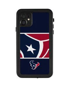 Houston Texans Zone Block iPhone 11 Waterproof Case