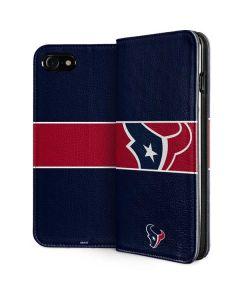 Houston Texans Zone Block iPhone SE Folio Case
