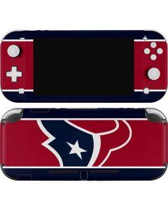 Houston Texans Zone Block Nintendo Switch Lite Skin