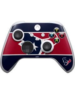 Houston Texans Zone Block Xbox Series S Controller Skin