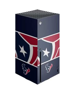 Houston Texans Zone Block Xbox Series X Console Skin