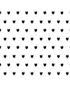 White and Black Hearts One X Skin