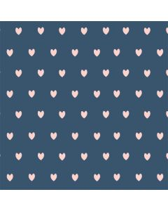 Blue and Pink Hearts One X Skin