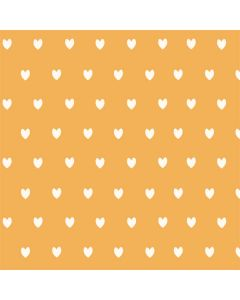 Yellow and White Hearts One X Skin