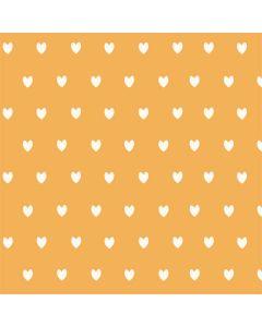 Yellow and White Hearts Galaxy Book Keyboard Folio 12in Skin