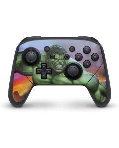 Hulk Flexing Nintendo Switch Pro Controller Skin