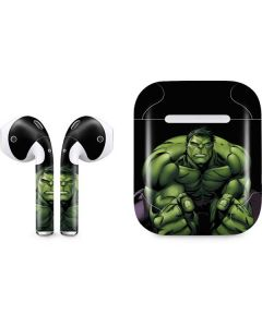 Hulk is Angry Apple AirPods Skin